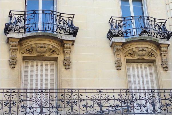 Art-Nouveau-Paris-2014-boulevard-Raspail-Balconies-Travel-Beyond-Paris