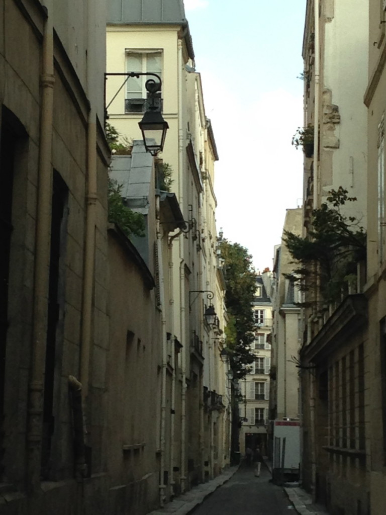 A side street off Rue Bonaparte