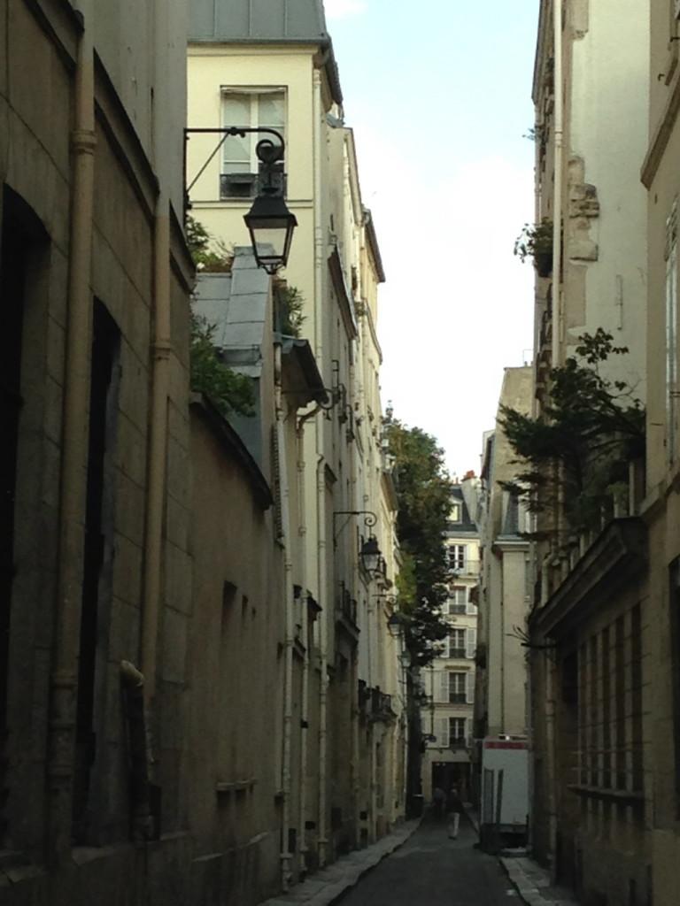A side street off Rue Bonaparte