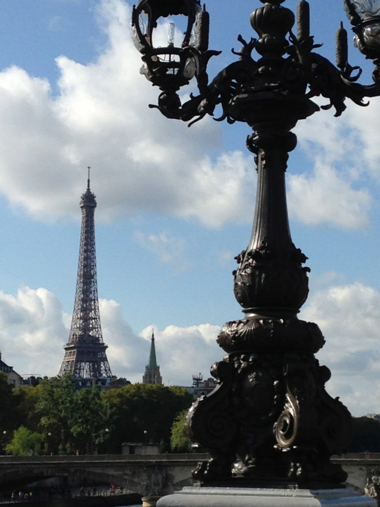 Classic view from the Pont Alexandre III