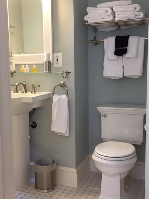 Benjamin moore quiet moments bathroom