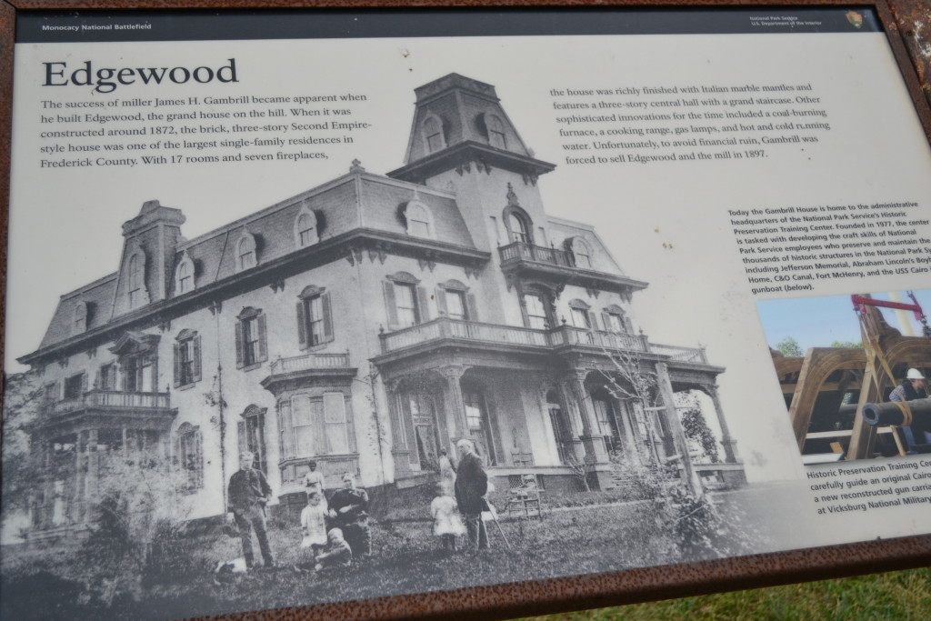The National Parks' information on the house. My great-grandparents bought the house from the Gambrills, and lived there till their deaths.