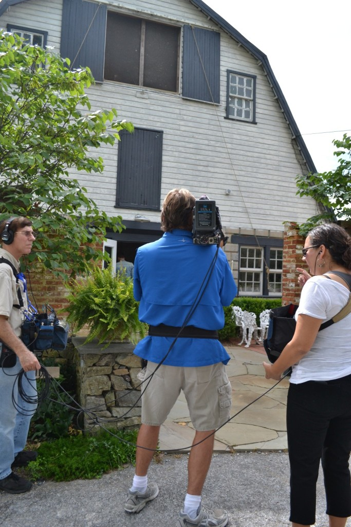 HGTV's top-rated House Hunters came to Chartreuse & co in July.