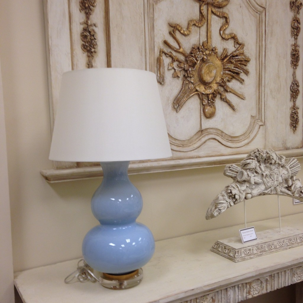 hot trends gourd lamp with antiques
