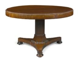 Chatsworth vicarage pedestal table
