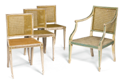 Chatsworth vicarage cane chairs