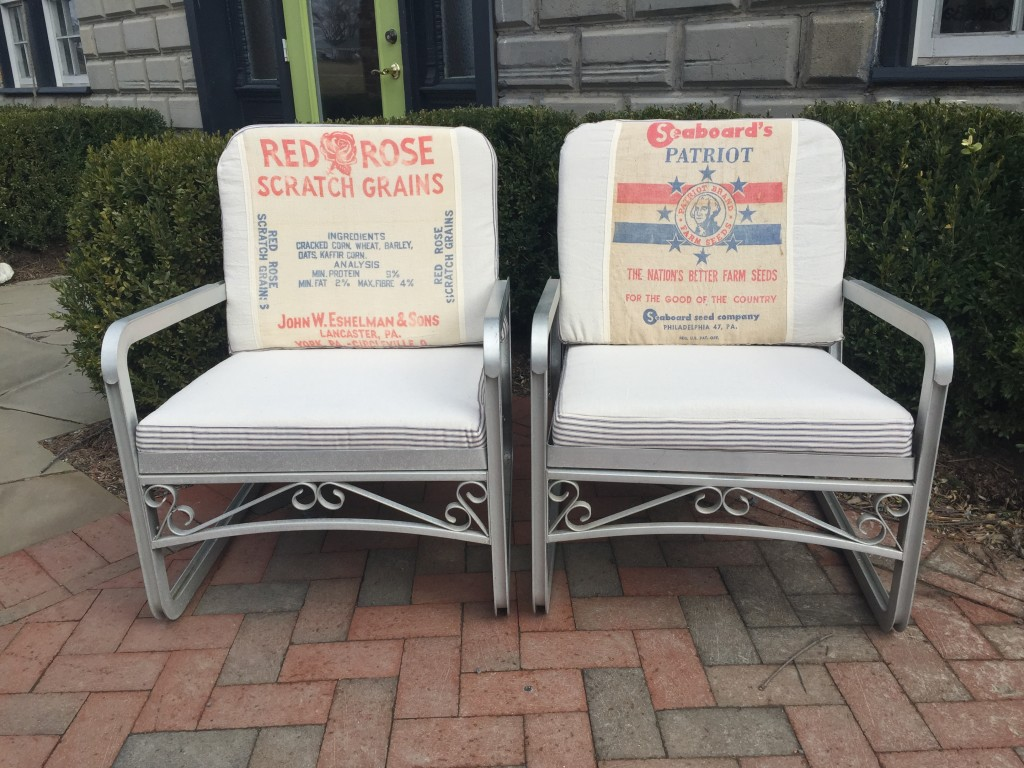 HouseMade upholstered chairs
