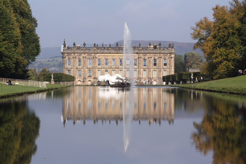 Chatsworth, seat of the Duke of Devonshire