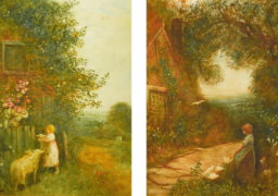 Duchess of Devonshire oil paintings