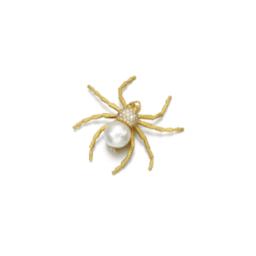 Duchess of Devonshire spider broach