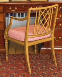 Duchess of Devonshire desk chair