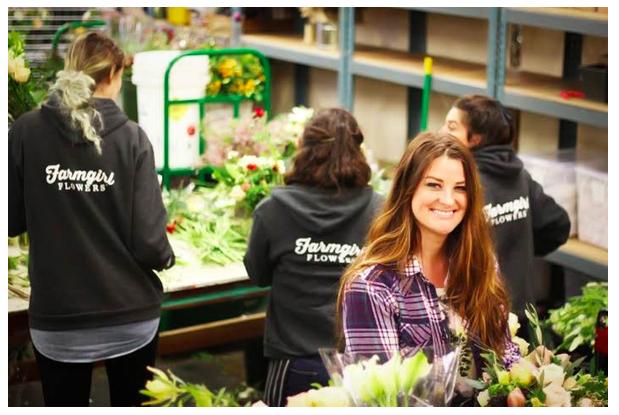 Farmgirl Flowers founder, Christina Stembel