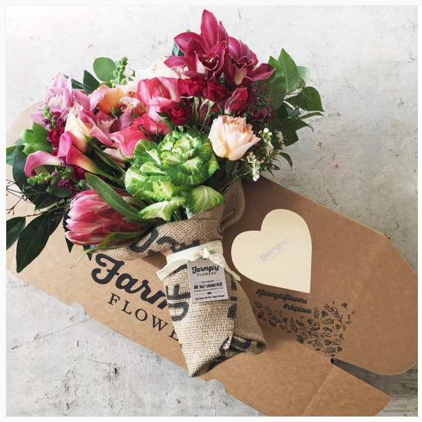 farmgirl flowers shipped package