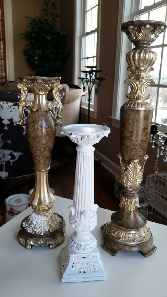 candlesticks - before