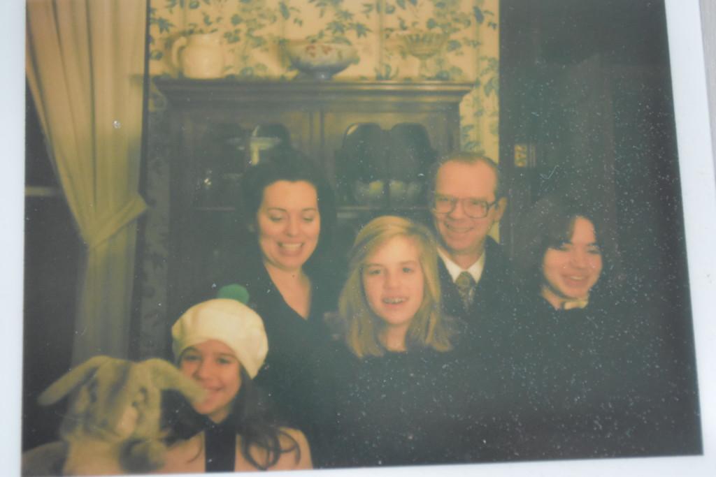Charles Thomas Family, circa 1976