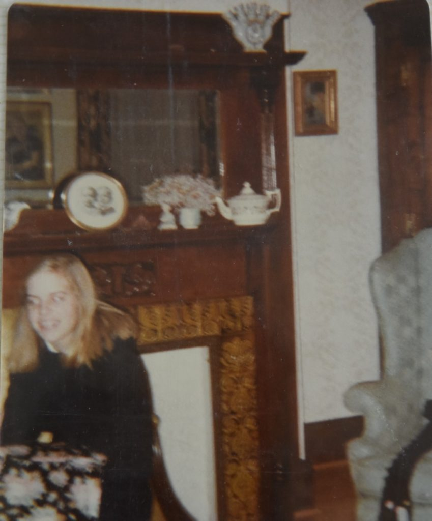 Grandmother's House, square room, circa 1980.