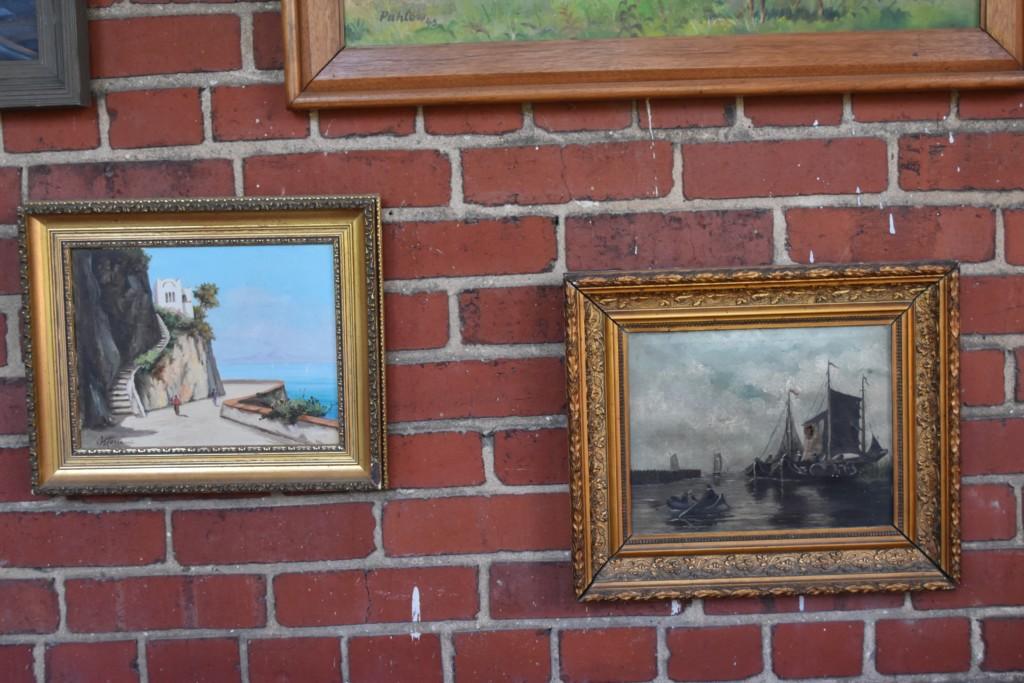 European oil paintings