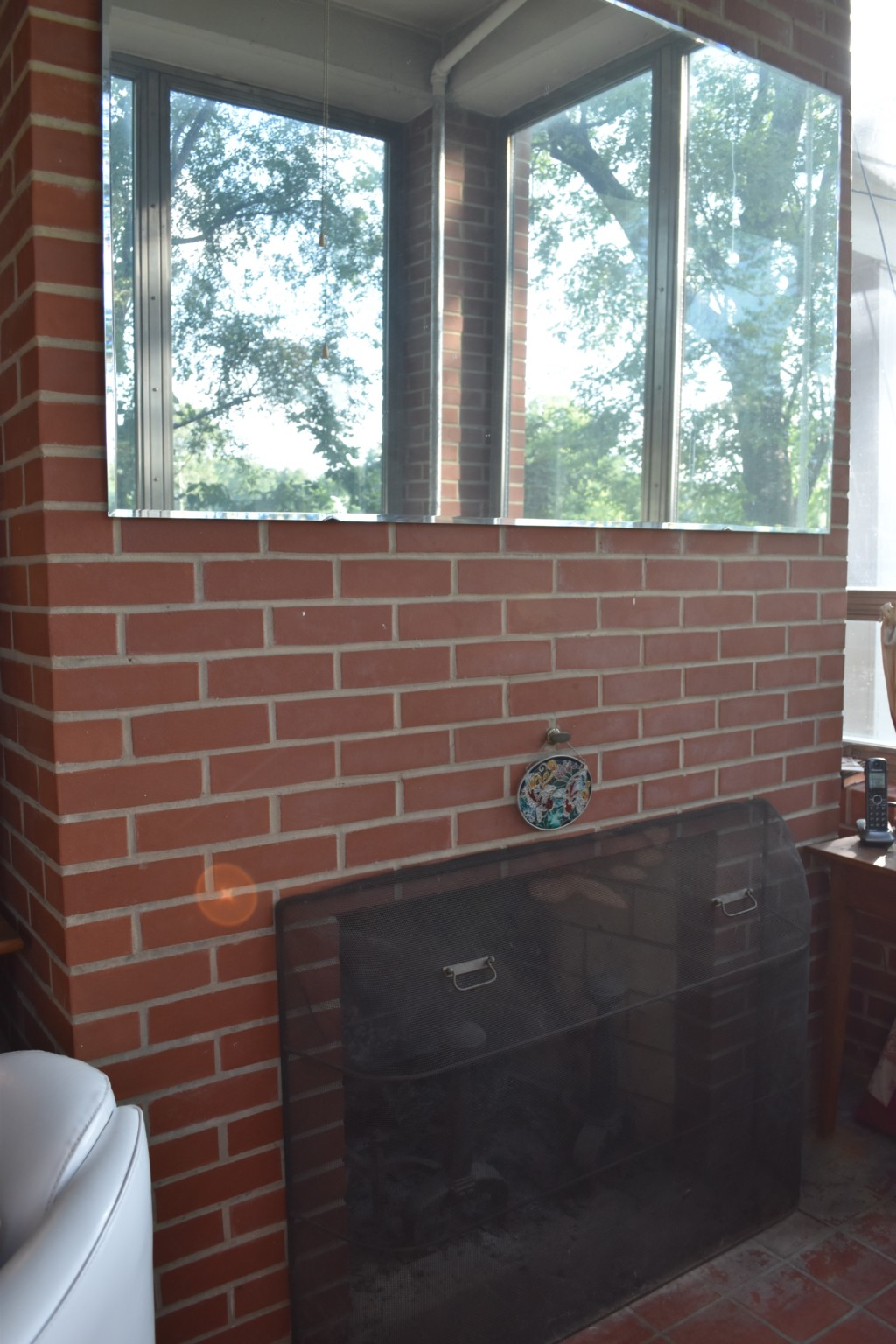 fireplace, modern