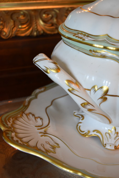 Detail of the Spode tureen
