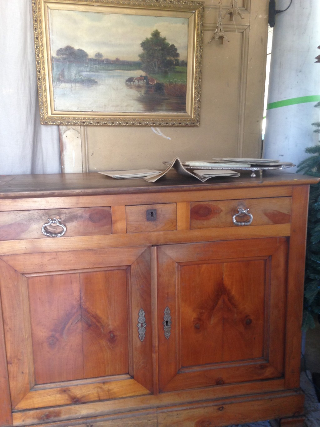The proportions, lines, and patina of this beautiful French chest make it a beauty.